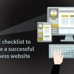checklist to create a successful business website