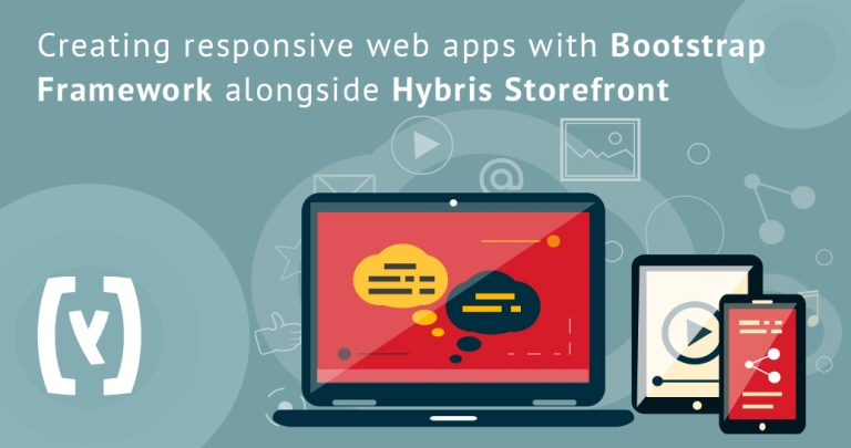 Creating responsive web apps with bootstrap framework alongside Hybris storefront