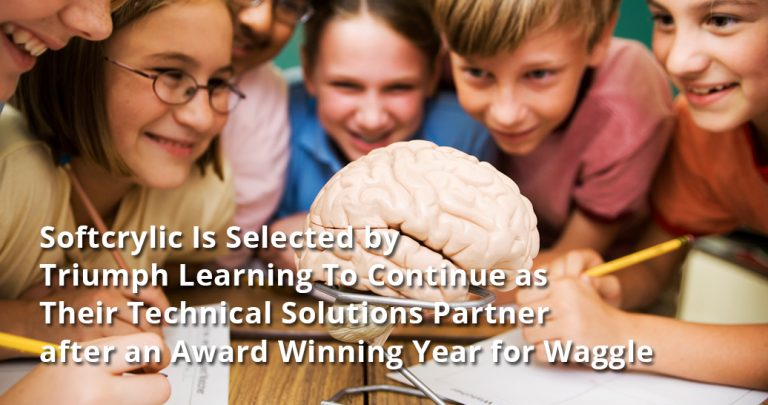Softcrylic Is Selected by Triumph Learning To Continue as Their Technical Solutions Partner after an Award Winning Year for Waggle